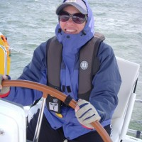 25 knots and loving it!