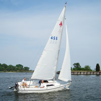 Daysailer Rentals on the Chesapeake Bay